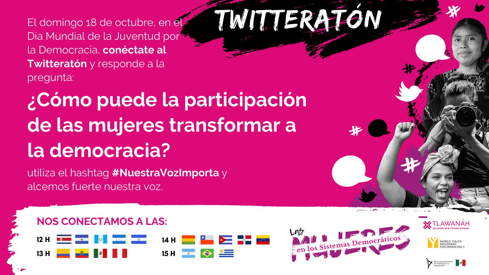 Tw Twitteratón #NuestraVozImporta